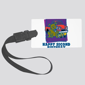 2nd-Birthday-05-[Converted] Large Luggage Tag